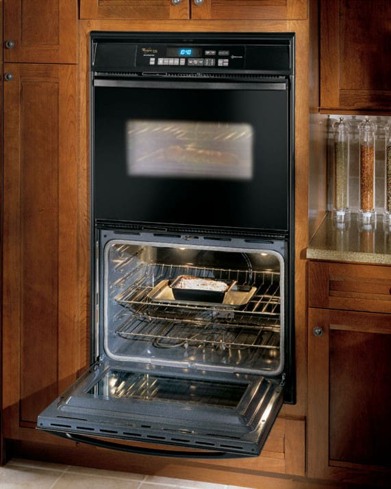 Whirlpool Gbd307pdb 30 Inch Double Built In Oven W Upper
