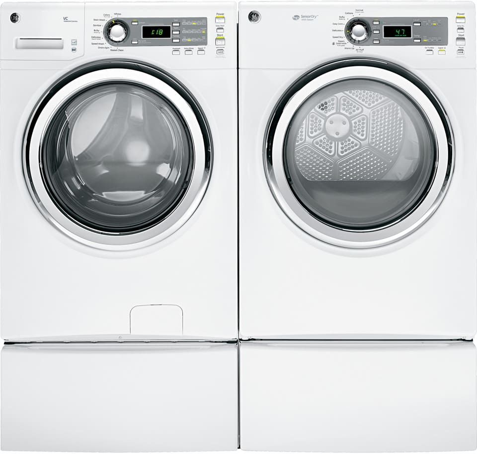 Hotel In Tumble Dryer ~ Ge gfds edww inch cu ft electric dryer with