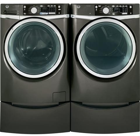 GE GFDS265EFMC 28 Inch 8.1 cu. ft. Electric Dryer with 12 ...