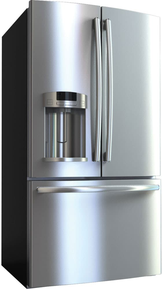 Ge Gfe27gsdss 27 Cu Ft French Door Refrigerator With