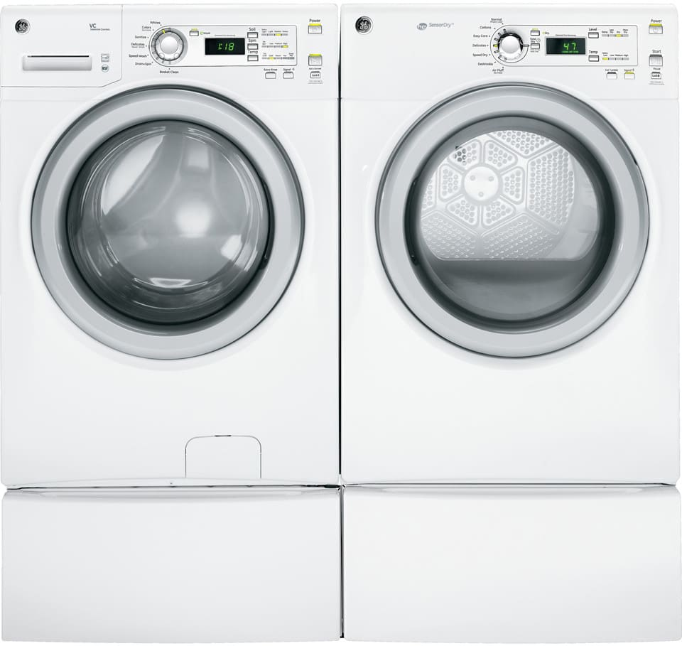 Ge Gfwh1200dww 27 Inch Front Load Washer With 3 6 Cu Ft
