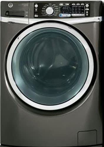 Ge Gfws2605fmc 28 Inch 4 5 Cu Ft Front Load Washer With