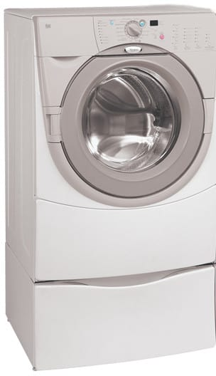 Whirlpool Ghw9400p 27 Inch Duet Front Load Washer With 3 8