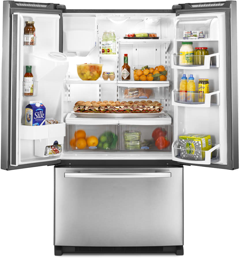 Whirlpool Gi5fsaxvy 24 9 Cu Ft French Door Refrigerator