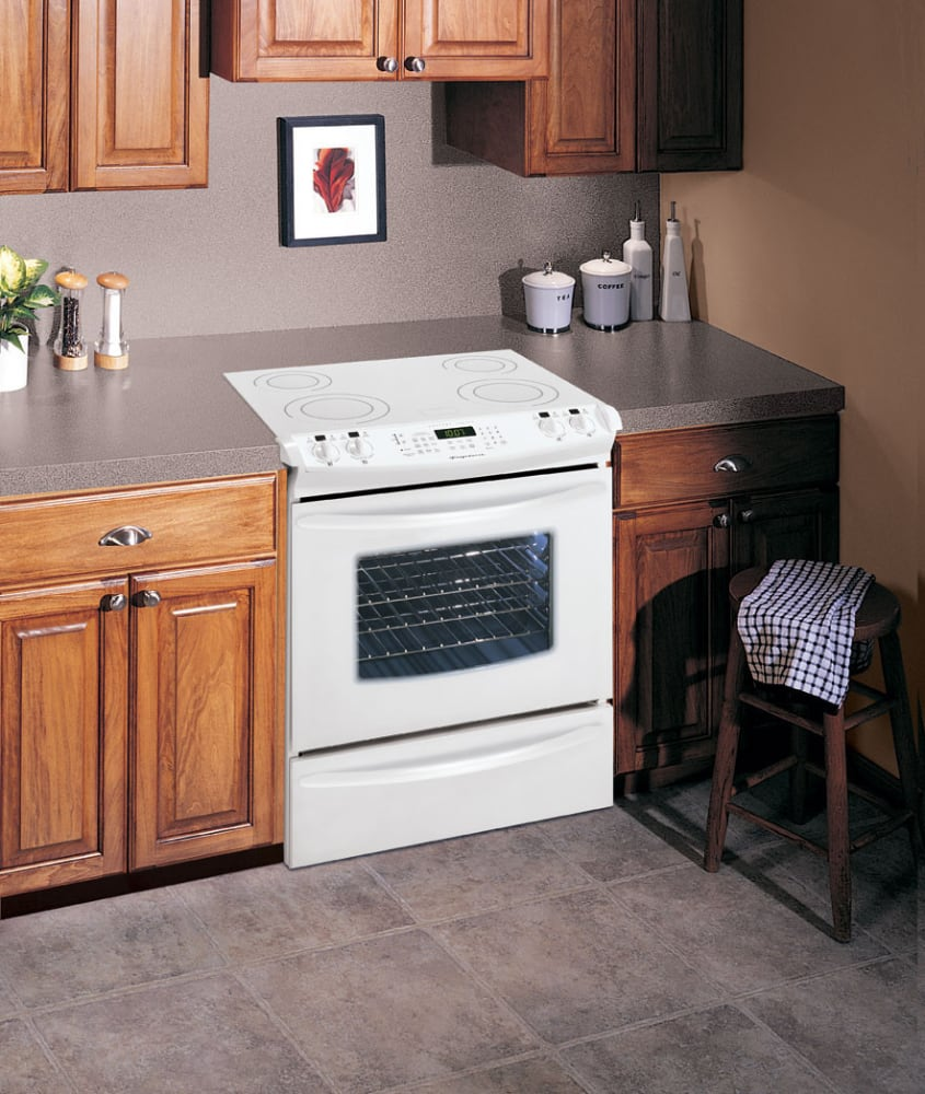 Frigidaire Gles389fs 30 Inch Slide In Electric Range With