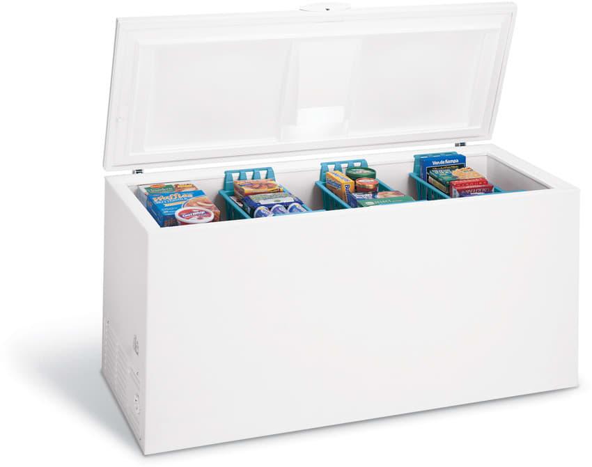 Frigidaire Glfc2528fw 24 9 Cu Ft Chest Freezer With 3
