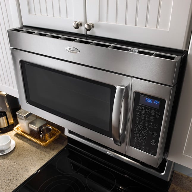Whirlpool Gmh5184xvs 1 8 Cu Ft Over The Range Microwave