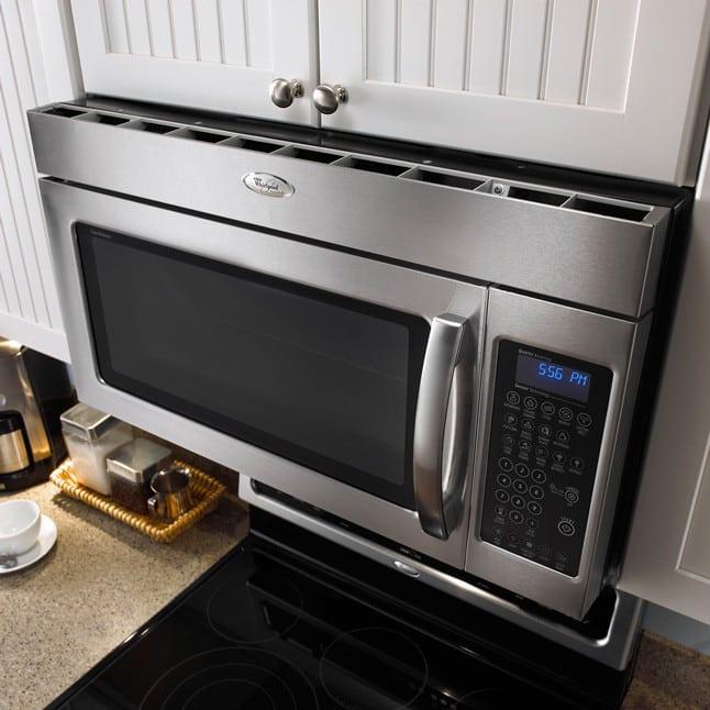 Whirlpool Gmh5184xvs 1 8 Cu Ft Over The Range Microwave