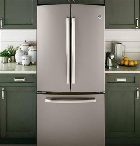 Ge Gne22gmees 22 1 Cu Ft French Door Refrigerator With