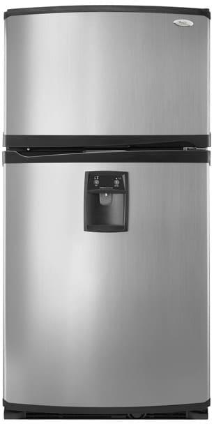 Whirlpool Gr2shwxps 21 7 Cu Ft Freestanding Top Freezer