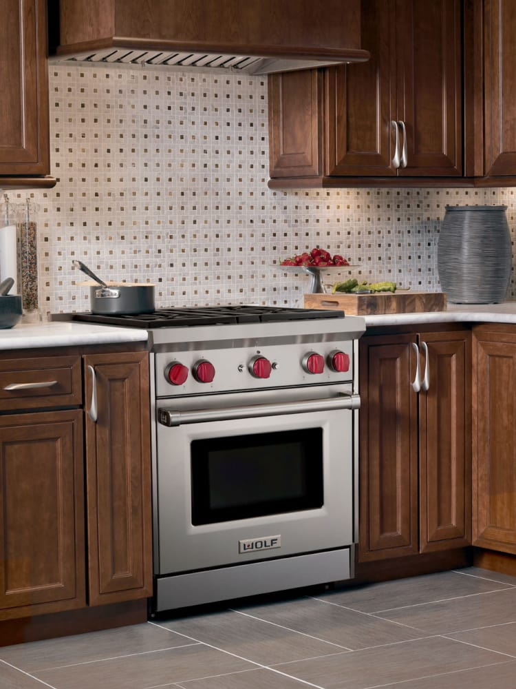 3a1b9dc1a87 Wolf GR304 30 Inch Pro-Style Gas Range with 4.4 cu. ft. Convection ...