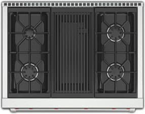 Wolf Gr364c 36 Inch Pro Style Gas Range With 5 5 Cu Ft