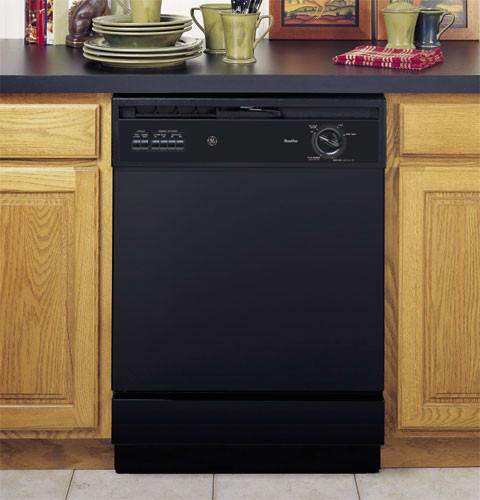 GE GSC3200JBB 25 Inch Portable Dishwasher with 5 Automatic ...