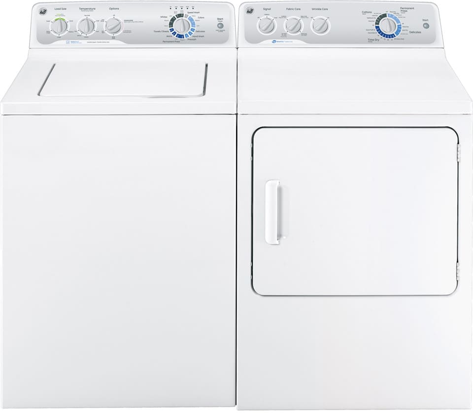 Ge Gtdp490edws 27 Inch 7 0 Cu  Ft  Electric Dryer With 13 Dry Cycles  4 Heat Selections  He