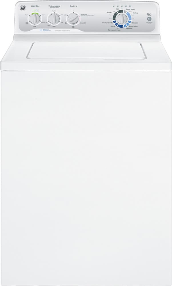 Ge Gtwn4250dws 27 Quot 3 8 Cu Ft Top Load Washer With 16