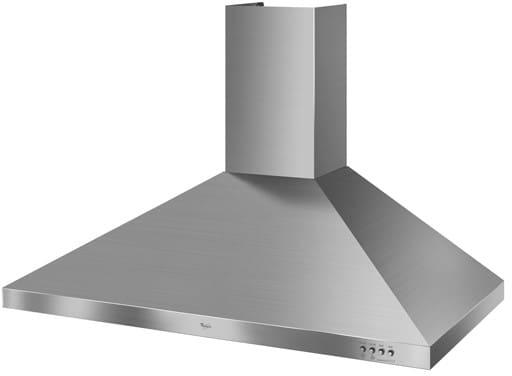 Whirlpool Chimney Hood ~ Whirlpool gxw dxs wall mount chimney range hood with