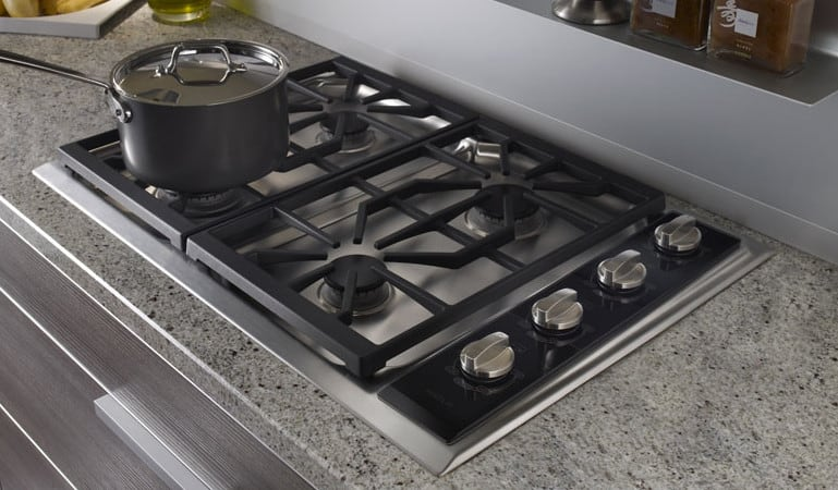 Wolf Ct30gs 30 Inch Gas Cooktop With 4 Dual Stacked Sealed