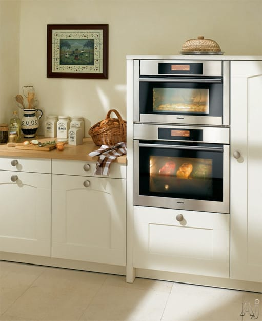 Miele H4082bm 24 Inch Speed Wall Oven With True European