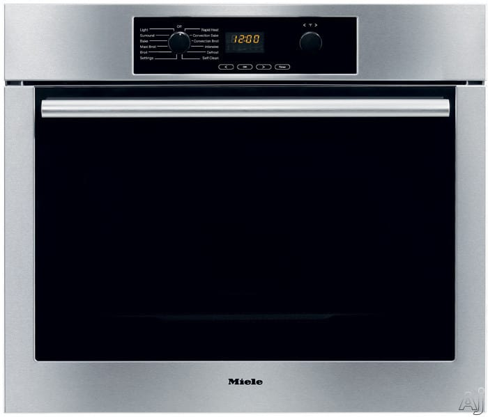 Miele H4742bpss 27 Inch Electric Single Wall Oven With