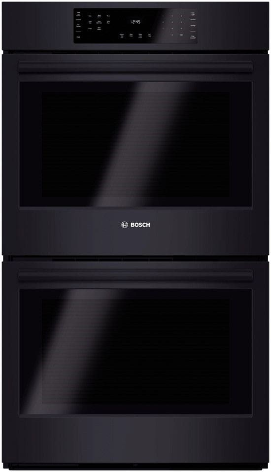 bosch hbl8661uc 30 inch double electric wall oven with true convection ecoclean quietclose. Black Bedroom Furniture Sets. Home Design Ideas