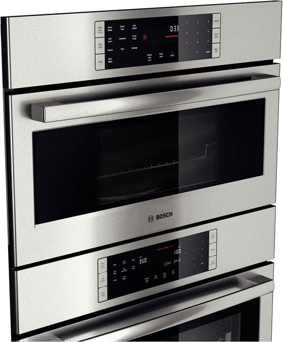 Combination Oven Bosch 800 Series Hbl8751uc Angle View