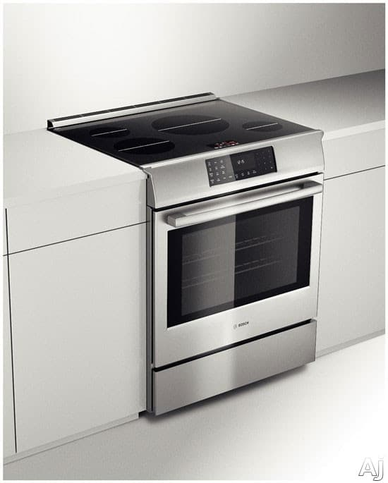 Bosch Hiip054u 30 Inch Slide In Induction Range With True