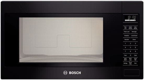Bosch hmb5051x 24 inch built in microwave oven with for Built in microwave oven 24 inch