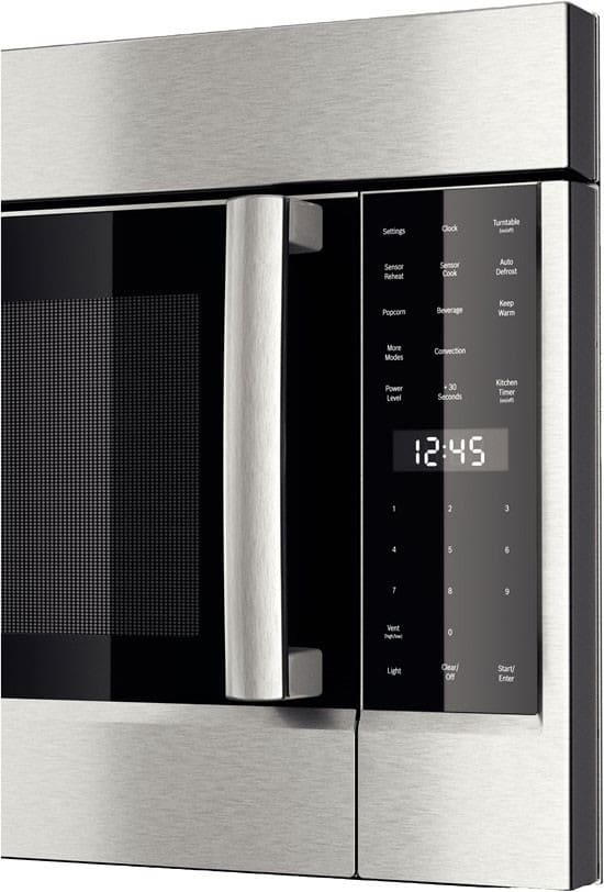 Bosch 800 Series Hmv8052u Lcd Display Features Easy To Read White Led Lettering