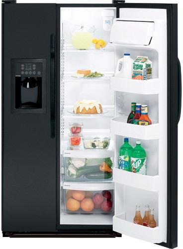 Hotpoint Hss25gftbb 25 0 Cu Ft Side By Side Refrigerator