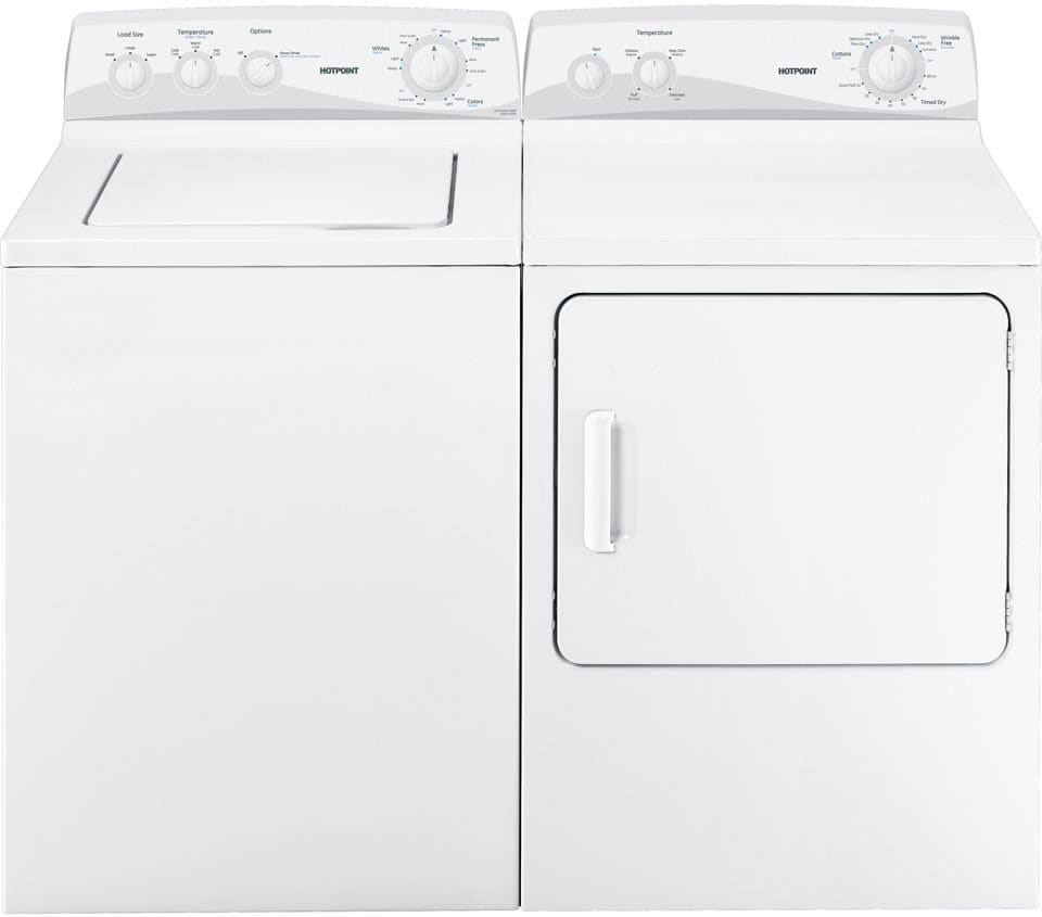 Hotpoint Top Loading Washing Machine Hotpoint Htwp1200dww 27 Inch Top Load Washer With 35 Cu Ft
