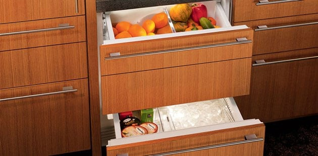 Sub Zero Id30c 30 Inch Integrated Double Drawer