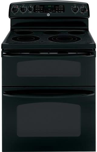 ge jb850dtbb 30 inch freestanding smoothtop electric range. Black Bedroom Furniture Sets. Home Design Ideas