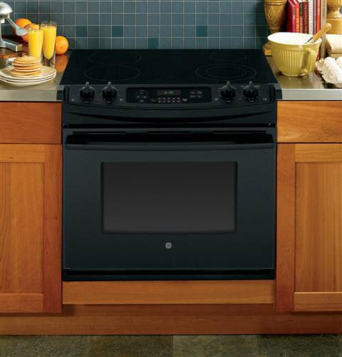 Ge Jd630dfbb 30 Inch Drop In Electric Range With Dual