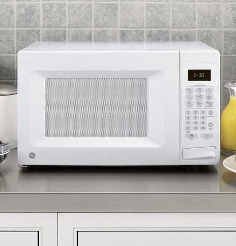 Kitchen No 1: GE JES0738DPWW 0.7 Cu. Ft. Countertop Microwave Oven With