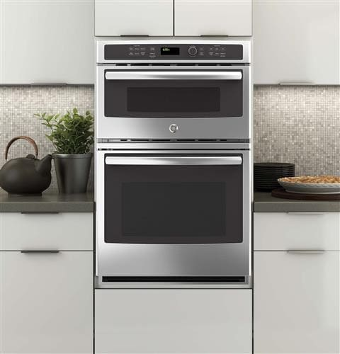 Ge Jk3800shss 27 Inch Combination Wall Oven With 4 3 Cu