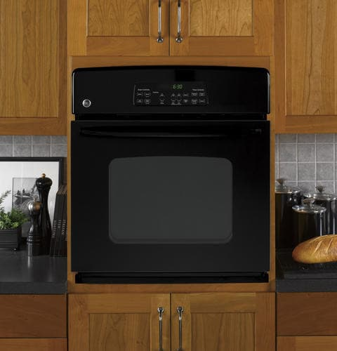 Ge Jkp30dpbb 27 Inch Single Electric Wall Oven With 3 8 Cu
