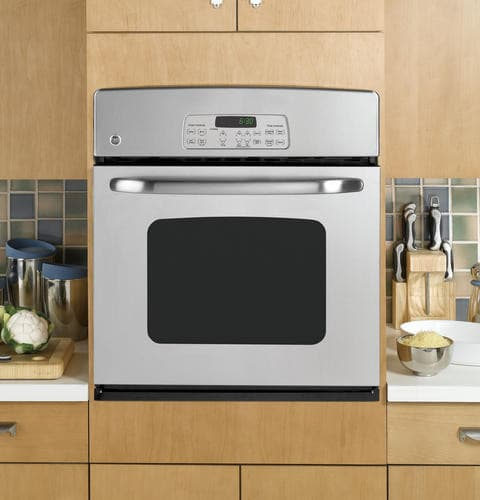 Ge Jkp30spss 27 Inch Single Electric Wall Oven With 3 8 Cu