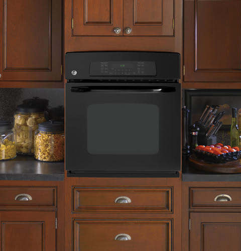 GE JKP70DPBB 27 Inch Single Electric Wall Oven with 3.8 cu ...