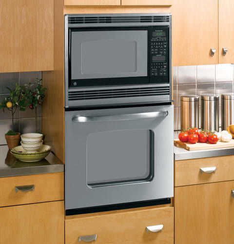 Ge Jkp90spss 27 Inch Microwave Combination Wall Oven With