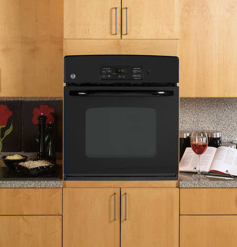 Ge Jks10dpbb 27 Inch Single Electric Wall Oven With 3 8 Cu