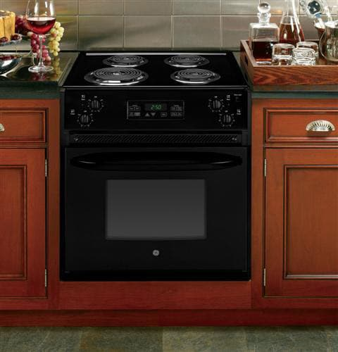 drop in electric range ge jm250dfbb 27 inch drop in electric range with 4 coil 10947