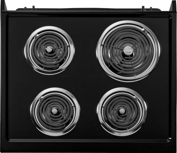 Ge Jm250dfww 27 Inch Drop In Electric Range With 4 Coil