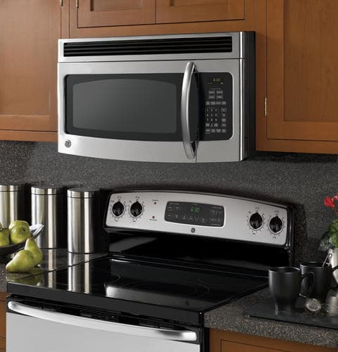 Ge Jnm1541spss 1 5 Cu Ft Over The Range Microwave Oven