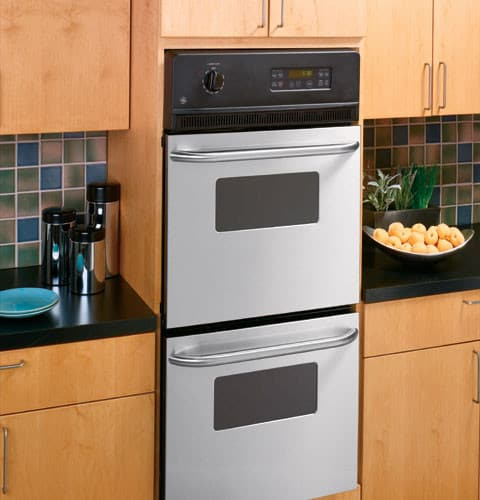 Ge Jrp28skss 24 Inch Double Electric Wall Oven With 2 7 Cu