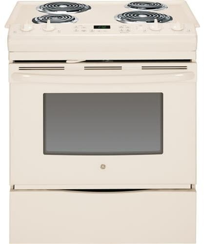 Ge Js250dfcc 30 Inch Slide In Electric Range With Dual