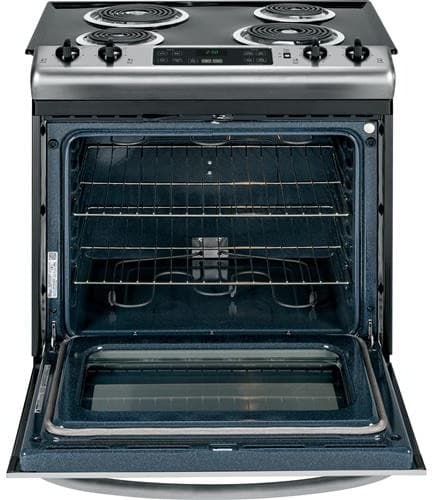 Ge Js250xf 30 Inch Slide In Electric Range With Dual