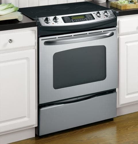 Ge Jsp46spss 30 Inch Slide In Electric Range With 5