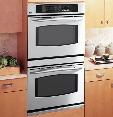 Ge Jt980skss 30 Inch Double Electric Wall Oven With 4 3 Cu