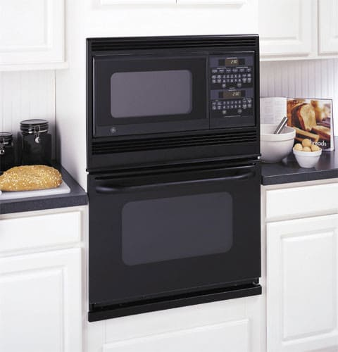 Ge Jtp86bfbb 30 Inch Combination Microwave Double Wall