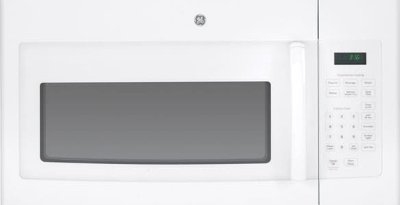 Ge Jvm3160dfww 30 Inch Over The Range Microwave Oven With